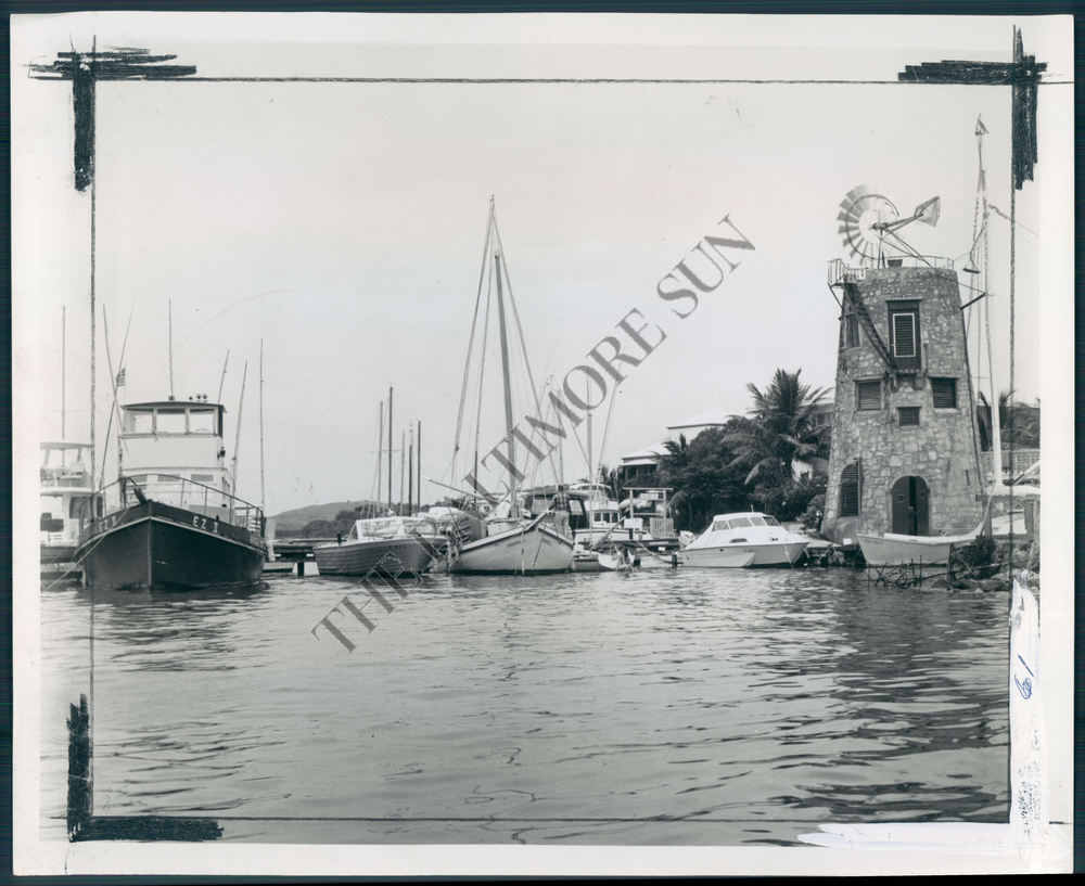 BS-PHOTO-bex-091-Downtown-Christiansted-Quay-In-St-Croix-Virgin-Islands-1973