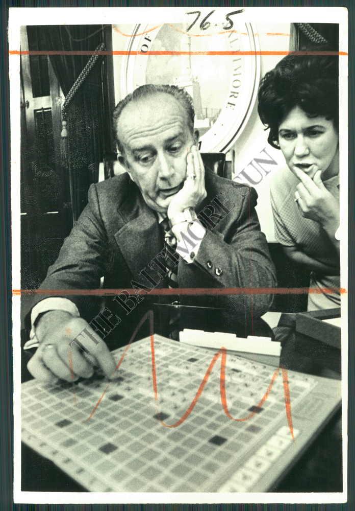 Baltimore Sun Photo Archive Photo of Scrabble Board Game ( BBO-161-BS ) at Sears.com