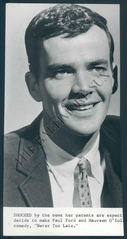 BS PHOTO bjb-967 Jim Hutton, Actor NEVER TOO LATE 1965. | eBay