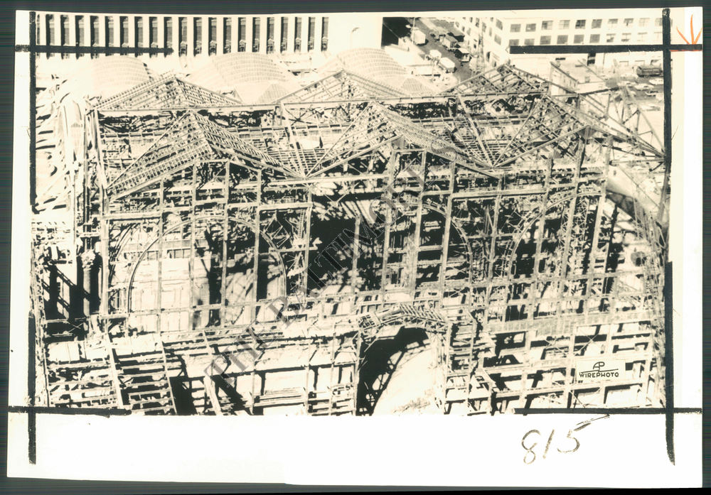 Bs Photo Bnt 349 Madison Square Garden Construction New York City 1965 Ebay